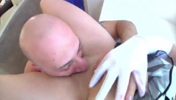 Blowjob and extremely horny milf enjoying it really good