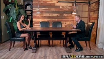 Teen beauty is treated to a large hard dick